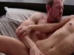 Best pornstar Mimi Rayne in horny small tits, brunette sex movie