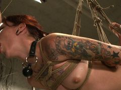 Incredible fetish, tattoos xxx clip with fabulous pornstars Mickey Mod and Krysta Kaos from Dungeonsex