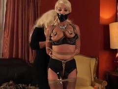 Hot Amanda Fox Hogtied