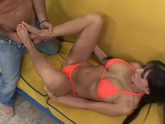 Horny pornstar Alison Star in incredible cunnilingus, blowjob porn scene