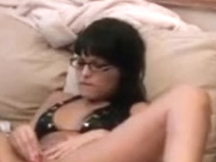 Handcuff French Brunette Pussy Ripped