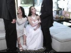 DaughterSwap - Teen Brides Have Orgy Before Wedding