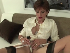 Adulterous english milf lady sonia pops out her enormous naturals