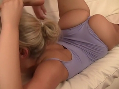 Exotic pornstars Jennifer Best and Mia Malkova in horny blowjob, big tits sex clip