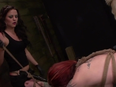 Hottest pornstars Sheena Rose, Brooklyn Daniels, Mila Blaze in Horny Tattoos, College adult scene