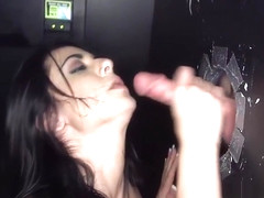 Passionate brunette Alexa Aimes gets her cunny pounded at last