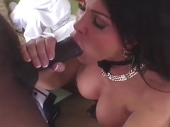 Bigtits MILF Teri Weigel draining last drop of cum from huge