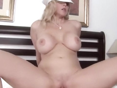 Racy blonde MILF Julia Ann
