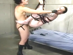 Lovely Dylan Ryan in real BDSM action