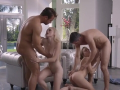 Alex Grey & Aubrey Star fuck Mick Blue and Chad White
