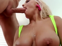 Kenzie Taylor pounded in her ass