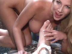 Danielle Maye Toe Fucking in private premium video