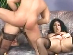 Pounded hard in rough position