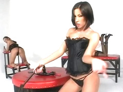 Incredible pornstars Mya Diamond and Emily Doll in exotic spanking, group sex sex scene