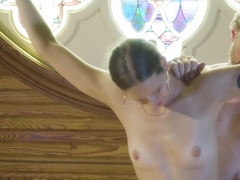 Violet Skye & Shadrack Stargazer in Bdsm In A Choir Loft, Episode 1 - KINK