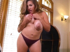 Acrobatic Milf Alessandra Miller Fucks Well Touching Dads Friend