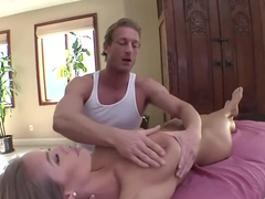 Nicole Aniston - Pretty blonde gets rubbed and fucked
