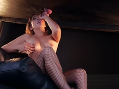 Jimena Lago Milking Table First Camera PremiumBukkake 2018 blowjob milking