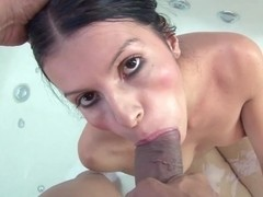 ThisGirlSucks - Latina Strokes And Sucks Dick Like A Champ