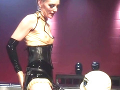 Ambrosial Mona Wales in love with a female domination