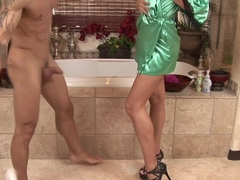 Hottest pornstars Tiffany Taylor, Tiffany Tyler in Horny Showers, Massage xxx video