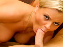 Bree Olson in Naturally Busty Bree Fucks Him Until He Cums In Her Mouth - PUBA