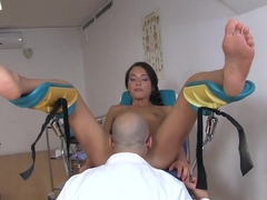 Cutie Nataly Gold Gets Drilled By Gynecologist