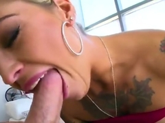 Nice blond Kleio Valentien having her anal filled