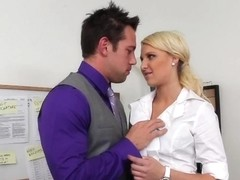 Destiny Jaymes & Johnny Castle in Naughty Office