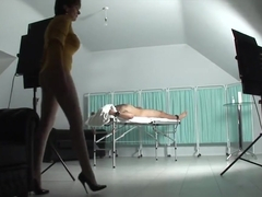 Lady Sonia Straps & Teases A Male Friend