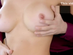 Big tits MILF Krissy Lynn hairy pussy licked and fucked