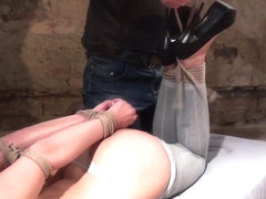 Ar & Barra Brass in Samantha Gets Tied Up In The Basement - KINK
