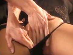 Tight asian lana violet gets handcuffed and fucked good