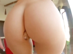 Kinky redhead milf, Mira Sunset likes to get something hard deep in her nice ass