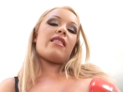 Amazing pornstar Jessica Moore in horny group sex, blonde sex scene