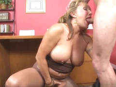 Fuck The Boss - Luna Azul And Tony D'sergio - 60PlusMilfs