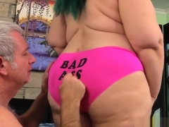 Naughty Plumper Becki Butterfly Gets Fervidly Massaged