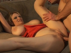 Busty Blonde Milf Lynn Lemay Seduces Boy & Takes Cum