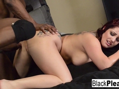 Dayna Vendetta in Busty Redhead Dayna Wants Some Interracial Action - BlackPlease