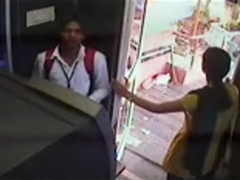 ATM Scandal captured by security camera