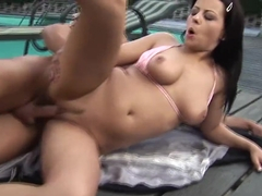 Veronica Sanchez Fucked Outdoors