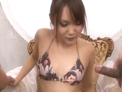 Flithy hot Japanese fellatio