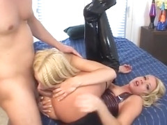 Olivia Saint And Melanie X Sharing A Dick