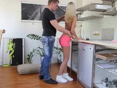 Blonde - anal gape - full