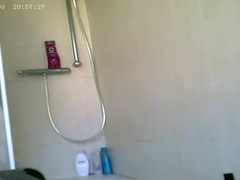 hot gf shower hiddencam