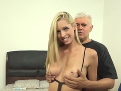 Hottest pornstars Scott Lyons, Katie Lewis in Incredible Big Tits, Blonde sex clip