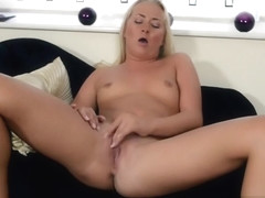 Seducing blonde babe Cayla Lyons Featuring Masturbation porn video