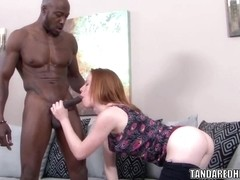 Teen hottie Kierra Wilde gets pounded with black dick