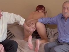 Amateur black gang and ash hollywood threesome Frannkie And The Gang Take a Trip Down