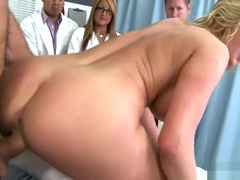 Fetching breasty MILF Zoey Holiday in incredible medical sex video